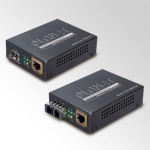 10/100/1000TX-LX Converter SM SC Single-mode, LFTP, PoE