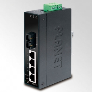 4x10/100+100Base-FX MM Industrial Switch, IP30