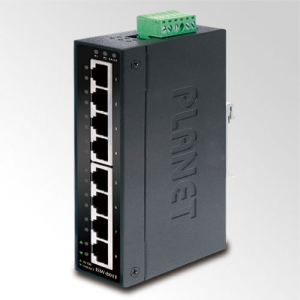 8x 10/100BaseT, -40...+75C Industrial Switch, IP30