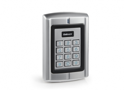 Sebury Aluminium IP65 Access Control/Reader RFID/PIN, 2500 users, Wiegand 26